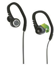 Scosche sportovní sluchátka s mikrofonem a ovládáním SportClip3, černo, šedá