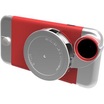 Ztylus Revolver Metal sada objektivů pro iPhone 6S Plus/6 Plus, červený