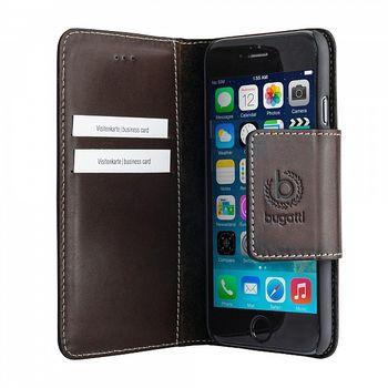 Bugatti BookCover Amsterdam pro Apple iPhone 6 Plus 5.5, hnědá