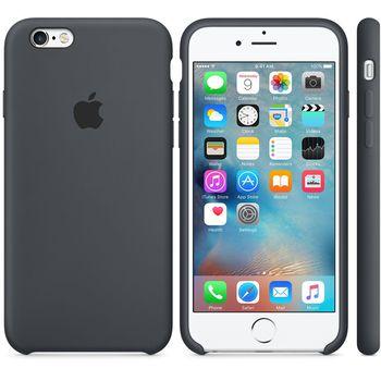 Apple silikonový kryt pro iPhone 6/6S, šedý