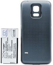 Baterie pro Samsung Galaxy S5 mini rozšířená včetně zadního krytu černá, Li-Ion, 3800 mAh