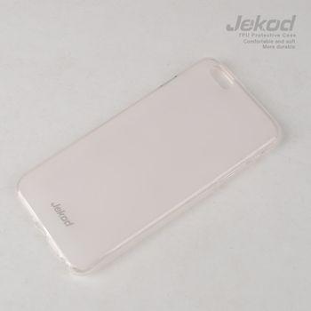 Jekod TPU silikonový kryt pro Apple iPhone 6 plus 5.5, bílá