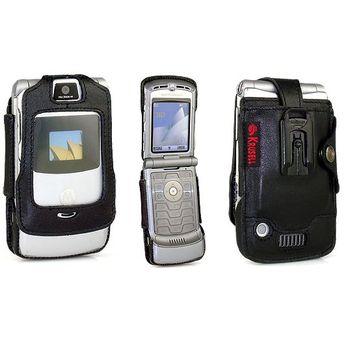 Krusell pouzdro Elastic - Motorola RaZr V3/ V3i/ V3c