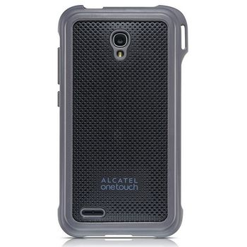 ALCATEL ONETOUCH 7048X GO PLAY Rubber Case, šedá
