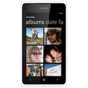 Nokia Lumia 900 White + Brodit držák do auta s nabíjením