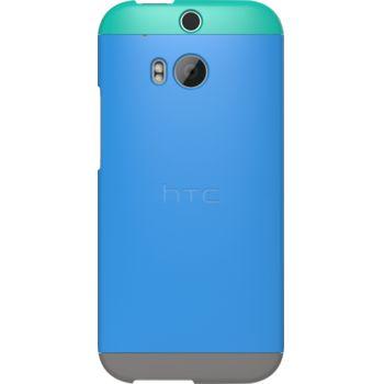 HTC pouzdro Double Dip Hard Shell HC C940 pro HTC One (M8), modro zeleno šedé