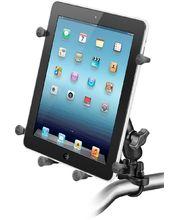 """RAM Mounts univerzální držák na tablety 9"""" a 10,1"""" na motorku nebo na kolo na řídítka, Ø objímky 12,7-31,75 mm, X-Grip, sestava RAM-B-149Z-UN9U"""