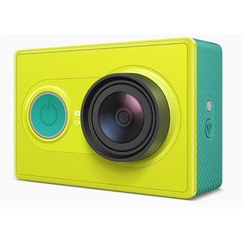 Xiaomi Yi Sports FullHD sportovní kamera, jungle + selfie teleskopická tyč