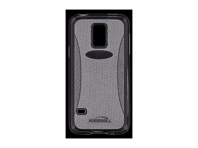 obsah balení Kisswill TPU Shine pouzdro pro Samsung G800 Galaxy S5mini, transparentní