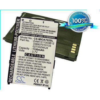 Baterie Mio A702 (1150mAh)