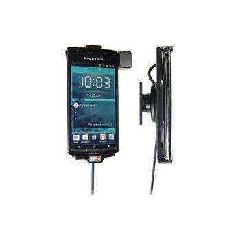 Brodit držák do auta na Sony Ericsson Xperia ARC/ARC S bez pouzdra, se skrytým nabíjením