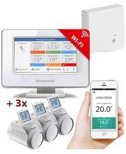 Honeywell Evohome Starter Set 3 CZ, Evohome Touch WiFi + 3x termohlavice + BDR91