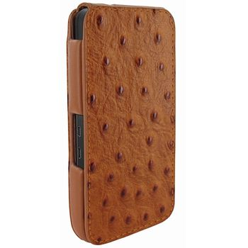 Piel Frama pouzdro pro BlackBerry Z10 iMagnum, Ostrich Tan