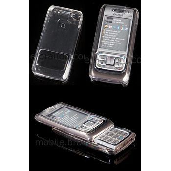 Transparentní pouzdro Brando Crystal - Nokia E65