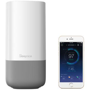 Sleepace NOX monitor kvality spánku, biobudík a probouzecí lampa