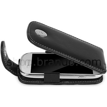 Pouzdro kožené Brando Flip Top - Samsung Galaxy S III Mini