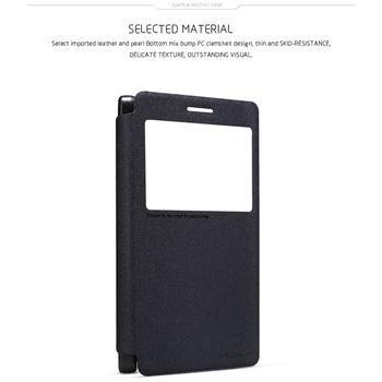 Nillkin Sparkle S-View Pouzdro Black pro Lenovo A7000