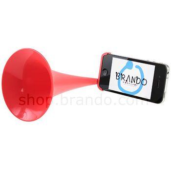 Tlampač pro Apple iPhone 4/4S - červená