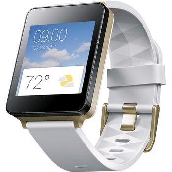 LG W100 G Watch, bílé