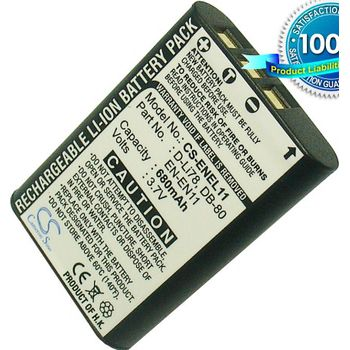 Baterie pro Nikon Coolpix s550, Olympus FE-370, Li-ion 3,7V 680mAh ekv. EN-EL11