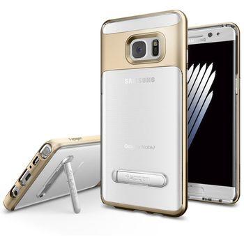 Spigen ochranný kryt Crystal Hybrid pro Galaxy Note 7, zlaté