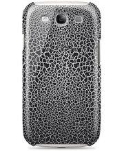 Belkin plastové pouzdro Shield Scorch s reliéfem pro Samsung Galaxy S III, černé (F8M407cwC02)