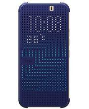 HTC flipové pouzdro Dot View HC M231 pro HTC One M9, modré