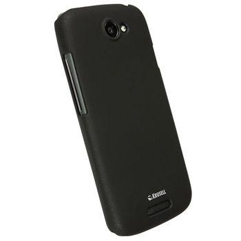 Krusell hard case - ColorCover - HTC One S  (černá)