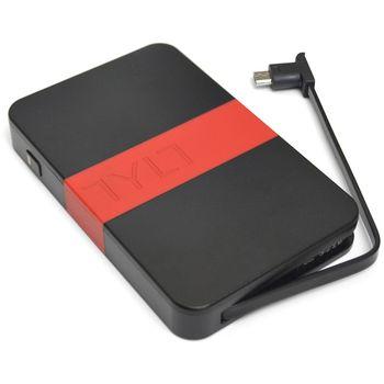 Tylt záložní baterie 3000 mAh energi 3K s microUSB konektorem, černo-červená