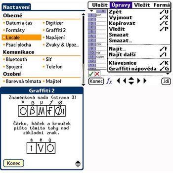 Redgrep Česká lokalizace pro Palm OS 5.x