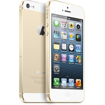 Apple iPhone 5S 32GB, zlatý