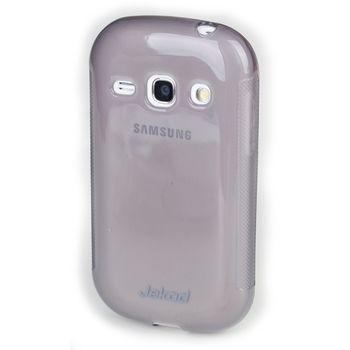 Jekod TPU silikonový kryt S6810 Galaxy Fame, černá