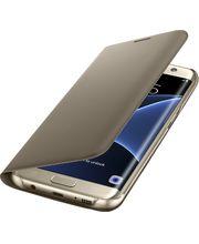 Samsung flipové pouzdro s kapsou EF-WG935PF pro Galaxy S7 edge, zlaté
