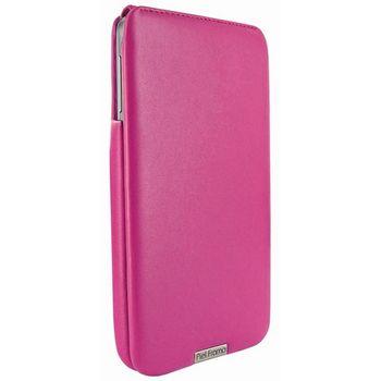 Piel Frama pouzdro pro Samsung Galaxy Note 3 iMagnum, Fuchsia, kvalitní kůže, ruční výroba Španělsko