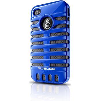 Musubo pouzdro Elvis pro Apple iPhone 4/4S - modré