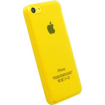 Krusell FrostCover kryt pro Apple iPhone 5C, žlutá