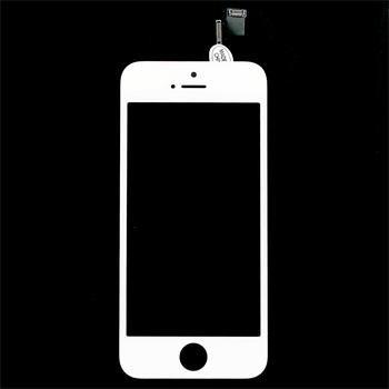 Náhradní díl LCD displej + dotyková deska pro iPhone 5S, bílý