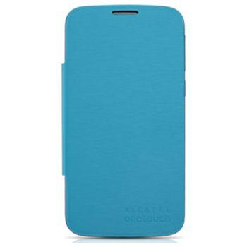 ALCATEL ONETOUCH 7041D POP C7 Flip pouzdro, modrá