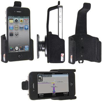 Brodit držák do auta na Apple iPhone 4S/4 bez pouzdra bez nabíjení s pojistkou