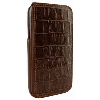 Piel Frama pouzdro pro iPhone 5 iMagnum, Crocodile Brown