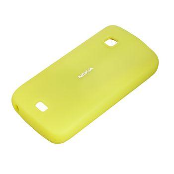 Nokia silikonový kryt CC-1012 pro Nokia C5-03, limetková