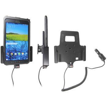 Brodit držák do auta na Samsung Galaxy Tab Active v orig. pouzdru, s nabíjením z cig. zapalovače