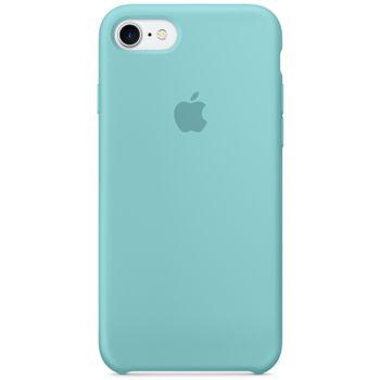 Apple silikonový kryt pro iPhone 7, jezerně modrý