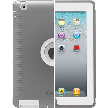 Otterbox - Nový iPad, iPad 2 Defender - bílošedá