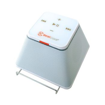 Bluetooth stereo reproduktor BestCool Geoblock - bílý - pouze rozbaleno