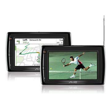 """MIO V505u GPS navigace, LCD 4,7"""", TMC, DVB-T, Multi Média, mapy Evropy (41)"""