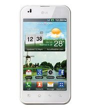 LG P970 Optimus Black bílý