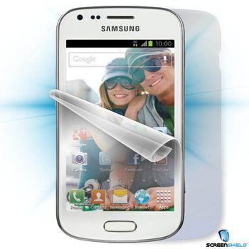 Fólie ScreenShield Samsung S7560 Galaxy Trend - celé tělo