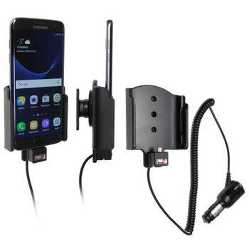 Brodit držák do auta na Samsung Galaxy S7 Edge bez pouzdra, s nabíjením z cig. zapalovače