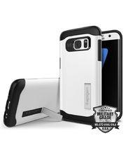 Spigen pouzdro Slim Armor pro Galaxy S7 edge, bílé